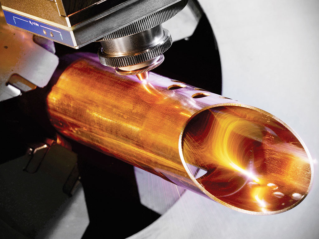 Fiber Laser Cutting Tube of Copper and Brass