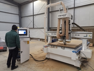 4x8 Wood CNC Machine for Cabinet Making in Malaysia