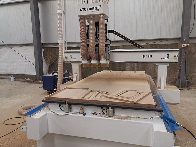 4x8 Wood CNC Router Machine for Cabinet Making