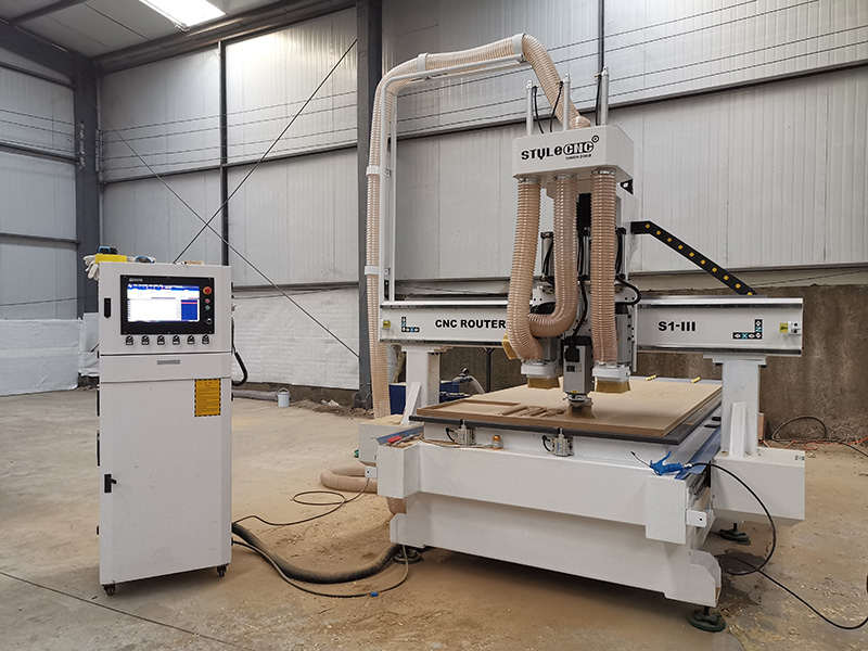4x8 Wood CNC Router Machine