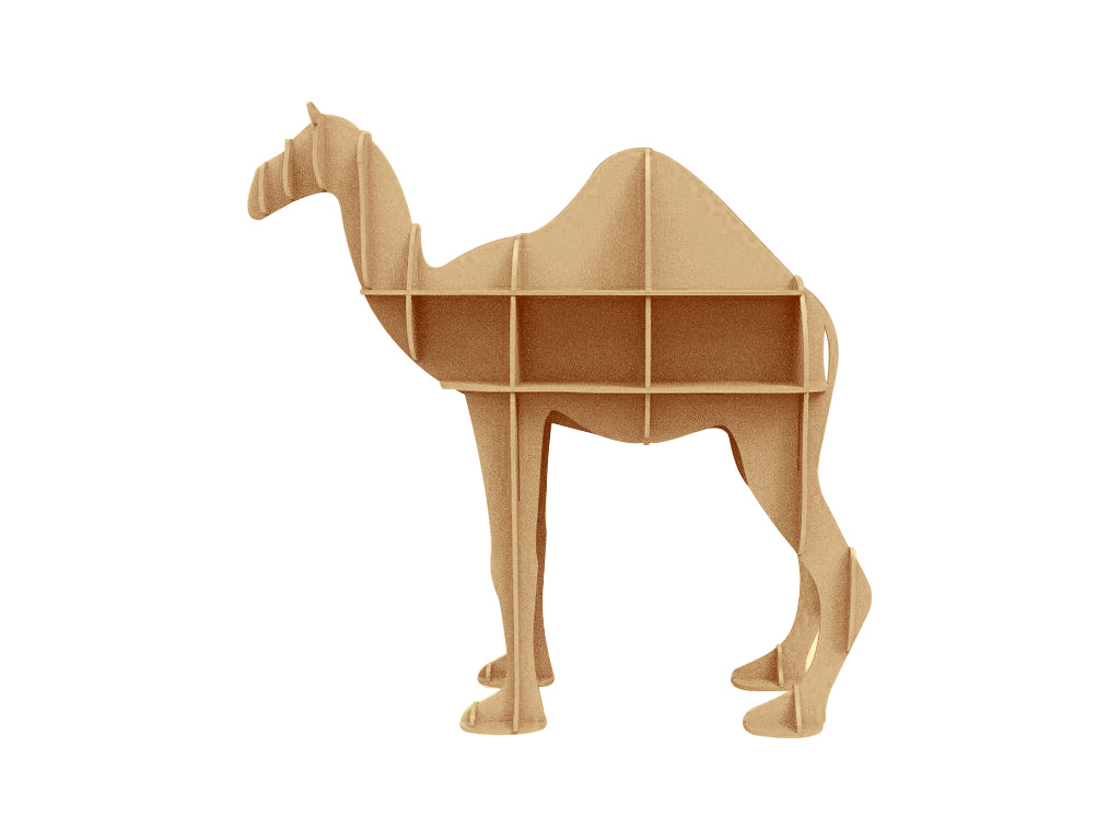 Nesting CNC Router for Camel Display Storage Project