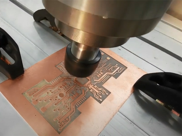 Small CNC Router Machine for PCB (Printed Circuit Board) Milling