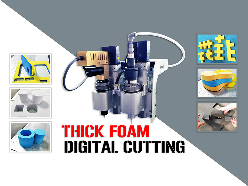 2020 Best Digital Cutter Cutting and Routing Thick Foam Up To 100mm