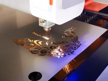 High Precision Laser Cutter for Metal Fabrication