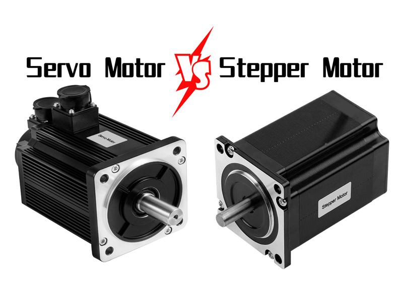 Stepper Motor VS Servo Motor
