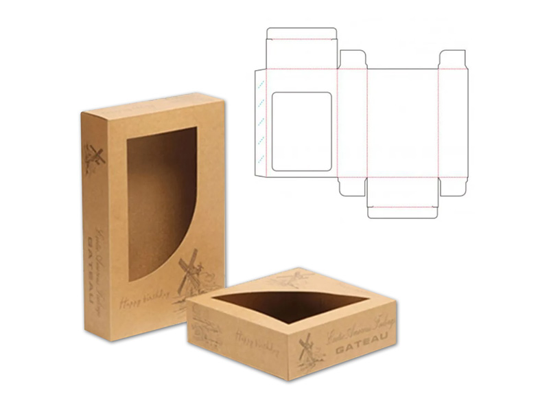 Window Packaging Box Cutting Projects