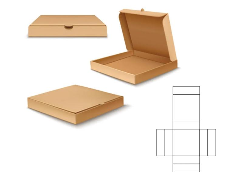 Die Cut Cardboard Box Plans
