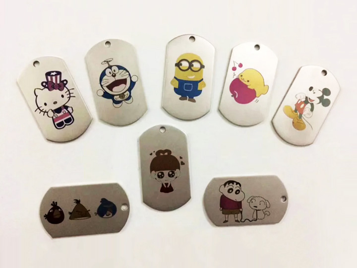 Color Laser Engraving Metal Jewelry Projects with Stainless Steel