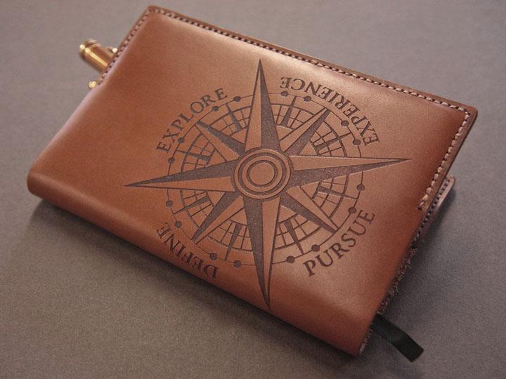 Laser Engraved Leather Wallets