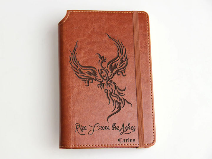Laser Engraved Genuine Leather Journals