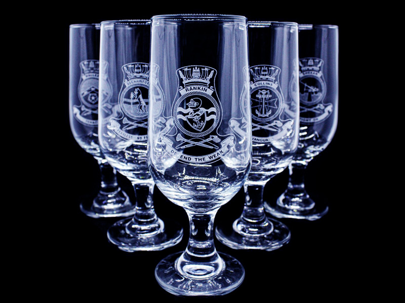 Rotary Laser Engraved Glass Projects