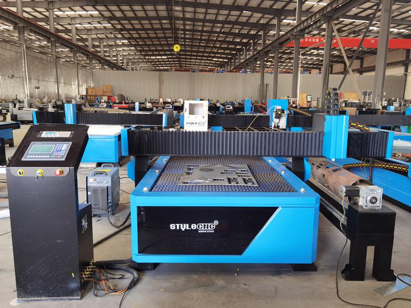 Industrial CNC Plasma Cutter Tables
