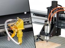 CNC Engraving Machine vs Laser Engraving Machine