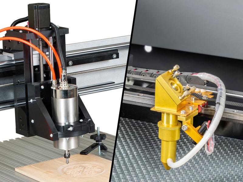 CNC Router vs Laser Engraver