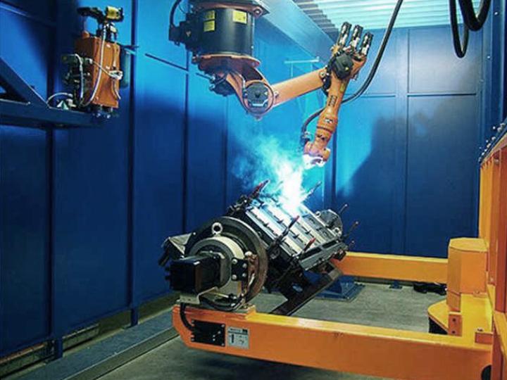 Fiber Laser Welding Robot Arm for Axles