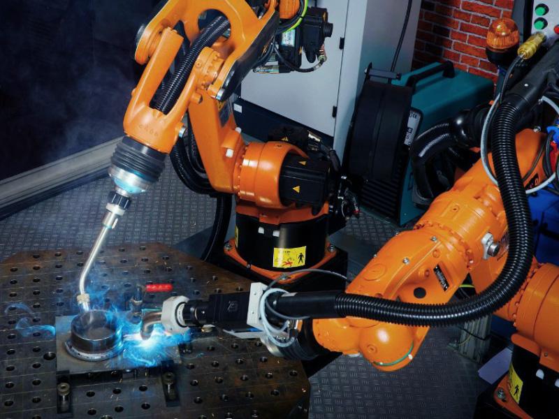 Fiber Laser Welding Robot Arm for Auto Parts
