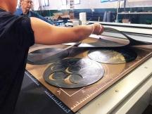 Flatbed Digital Graphite Sheet Cutting Machine for Gasket Manufacturing