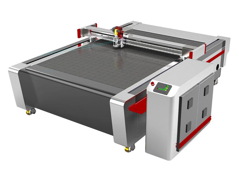 Smart Automatic Industrial Fabric Cutting Machine