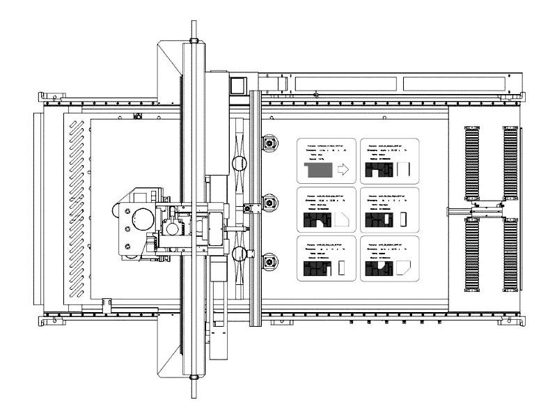 CNC Wood Nesting Machine