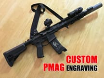 How to Custom PMAGs for Guns & Firearms with Laser Stippling Machine?