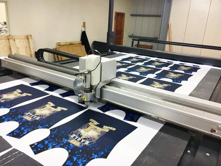 Digital Fabric Cutting Machine