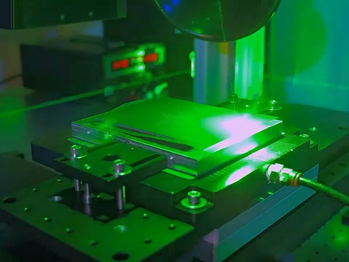 High Precision Laser Cutting System in Lithium-ion Battery Manufacturing