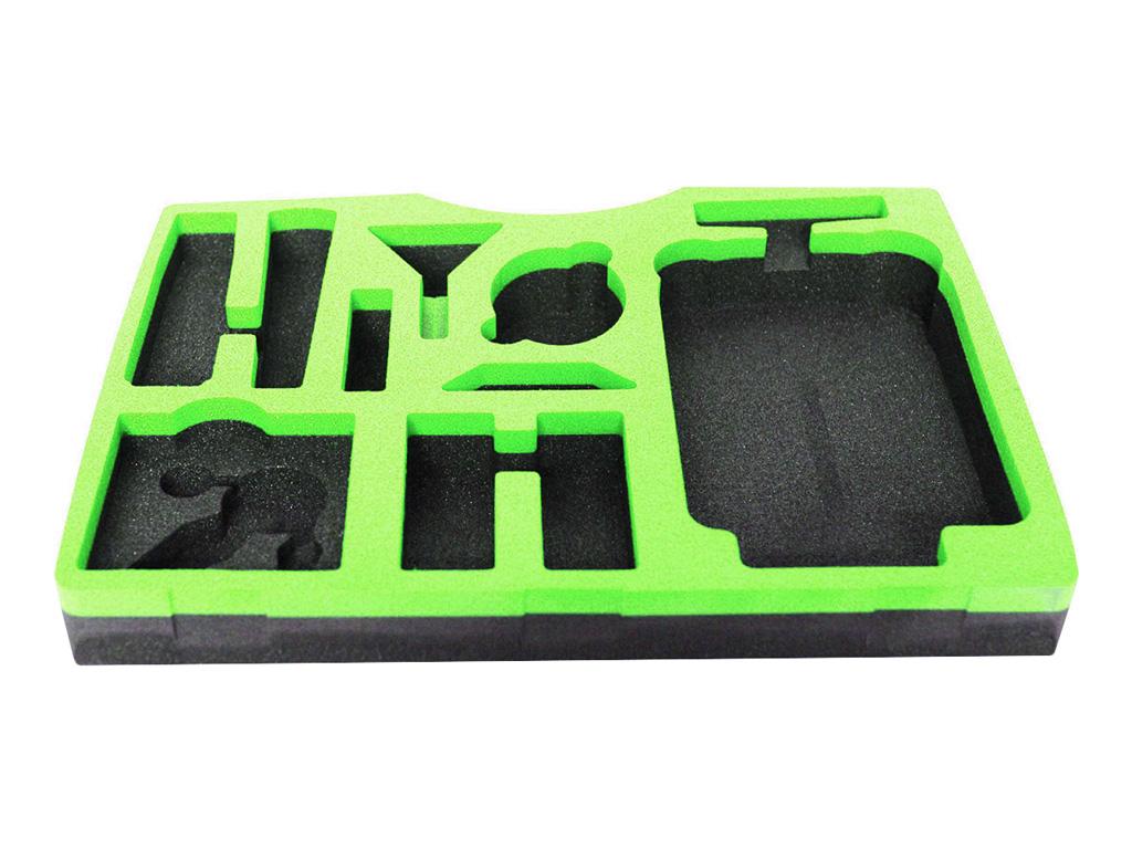 Laser Cut Custom Foam Packaging with CO2 Laser Tube