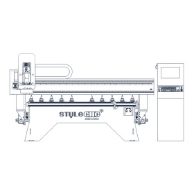 2021 Top Rated ATC CNC Routers with Automatic Tool Changer