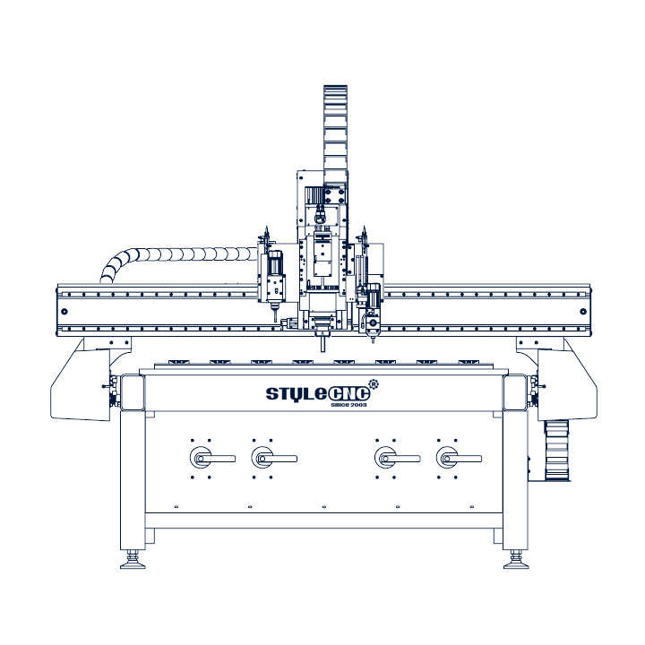 What is a CNC router machine used to do?